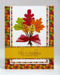 A Doodlebug Happy Harvest Fall Card by Mendi Yoshikawa