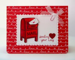 Doodlebug Lovebugs & Lawn Fawn Valentines by Mendi Yoshikawa