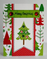 Doodlebug North Pole Christmas Card by Mendi Yoshikawa