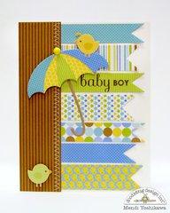 Doodlebug & Sizzix Die-cut Card Set by Mendi Yoshikawa