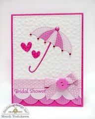 Doodlebug & Sizzix Die-cut Card Set by Mendi Yoshikawa