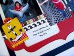 An Echo Park Summer Adventure Layout by Mendi Yoshikawa