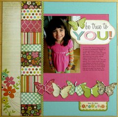 A Simple Stories Fab-U-lous Layout by Mendi Yoshikawa