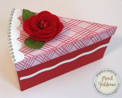 An Echo Park Love Story Card & Treat Box