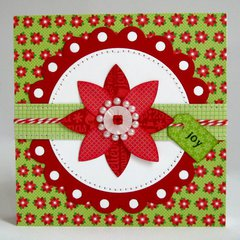 Doodlebug Home For The Holidays Card by Mendi Yoshikawa