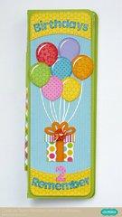 Doodlebug Perpetual Birthday Calendar by Mendi Yoshikawa