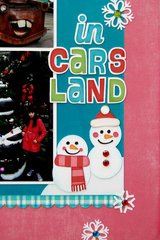Lori Whitlock Frosty Snowman Hybrid Holiday Layout