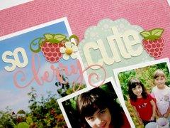 Jillibean Summer Red Raspberry Soup Layout by Mendi Yoshikawa