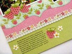 Jillibean Summer Red Raspberry Soup Layout by Mendi Yoshikawa
