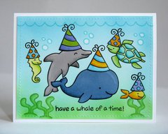 A Lawn Fawn Birthday Card by Mendi Yoshikawa