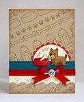 Lawn Fawn Critters at The Dog Park Card by Mendi Yoshikawa