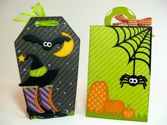 Lori Whitlock Echo Park Halloween Treat Boxes