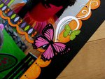 A Lori Whitlock Butterfly Fairy Halloween Layout