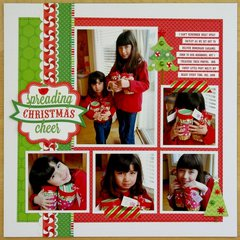 A Doodlebug North Pole Layout by Mendi Yoshikawa