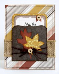 An Echo Park Fall Reflections Card by Mendi Yoshikawa