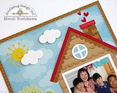 A Doodlebug House Themed Layout by Mendi Yoshikawa