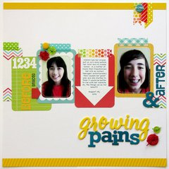 Project Life Honey Traditional Layout by Mendi Yoshikawa