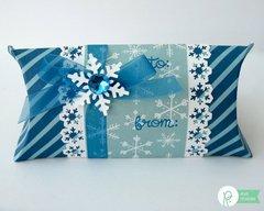 Pebbles Inc. Winter Birthday Gift Wrap by Mendi Yoshikawa