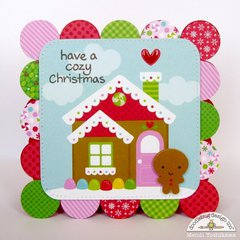 Doodlebug Sugarplums Christmas Card Set by Mendi Yoshikawa