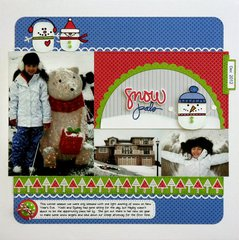 Technique Tuesday Good To Snow Layout by Mendi Yoshikawa