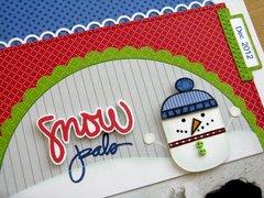 Technique Tuesday Good To Snow Layout by Mendi Yoshikawa