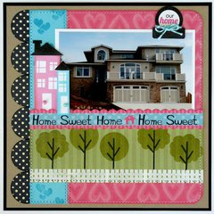 Technique Tuesday Happyville Home Layout by Mendi Yoshikawa