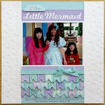 Technique Tuesday Little Mermaid Layout by Mendi Yoshikawa