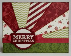 A Teresa Collins Christmas Cottage Card by Mendi Yoshikawa