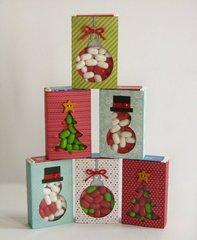 Christmas TicTac Wraps by Mendi Yoshikawa