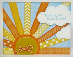 n Echo Park Summer Sunshine Card by Mendi Yoshikawa