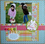 May 2011 Scrapbook Stamping Challenge