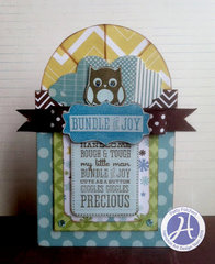 Bundle of Joy card by Patty Folchert