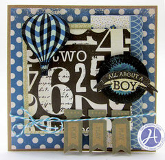 About a Boy Card by Gini Williams Cagle