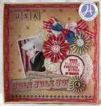 Altered Shadowbox by Gloria Stengel