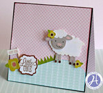 Little One Card by Kim Frantz