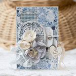 Shabby Card for FabScraps