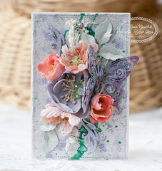 Flourish card for Lindy's Stamp Gang