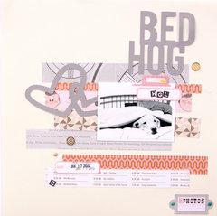 Bed Hog {October Afternoon}