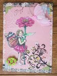 Fairy Happy Birthday Card