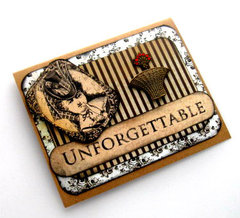 Unforgettable Victorian-Steampunk Card