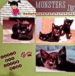 Monsters Inc. page 1 - foster kittens