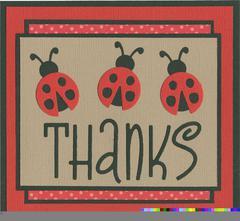 Lady Bug Thanks