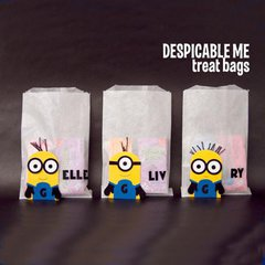 Despicable Me Treat Bags