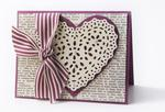 Heart Lace Card