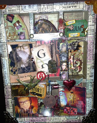 GRADUATION 2013-Tim Holtz Configurations Shadowbox