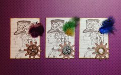 Steampunk Sally (ATC Swap)