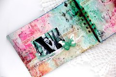 Mixed media mini album