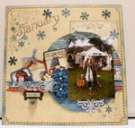 Graphic 45 Place in Time January Layout