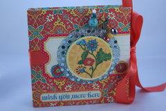 Graphic 45 Bohemian Bazzar Mini Album