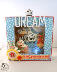 Graphic 45 Mother Goose Shadow Box Night Light